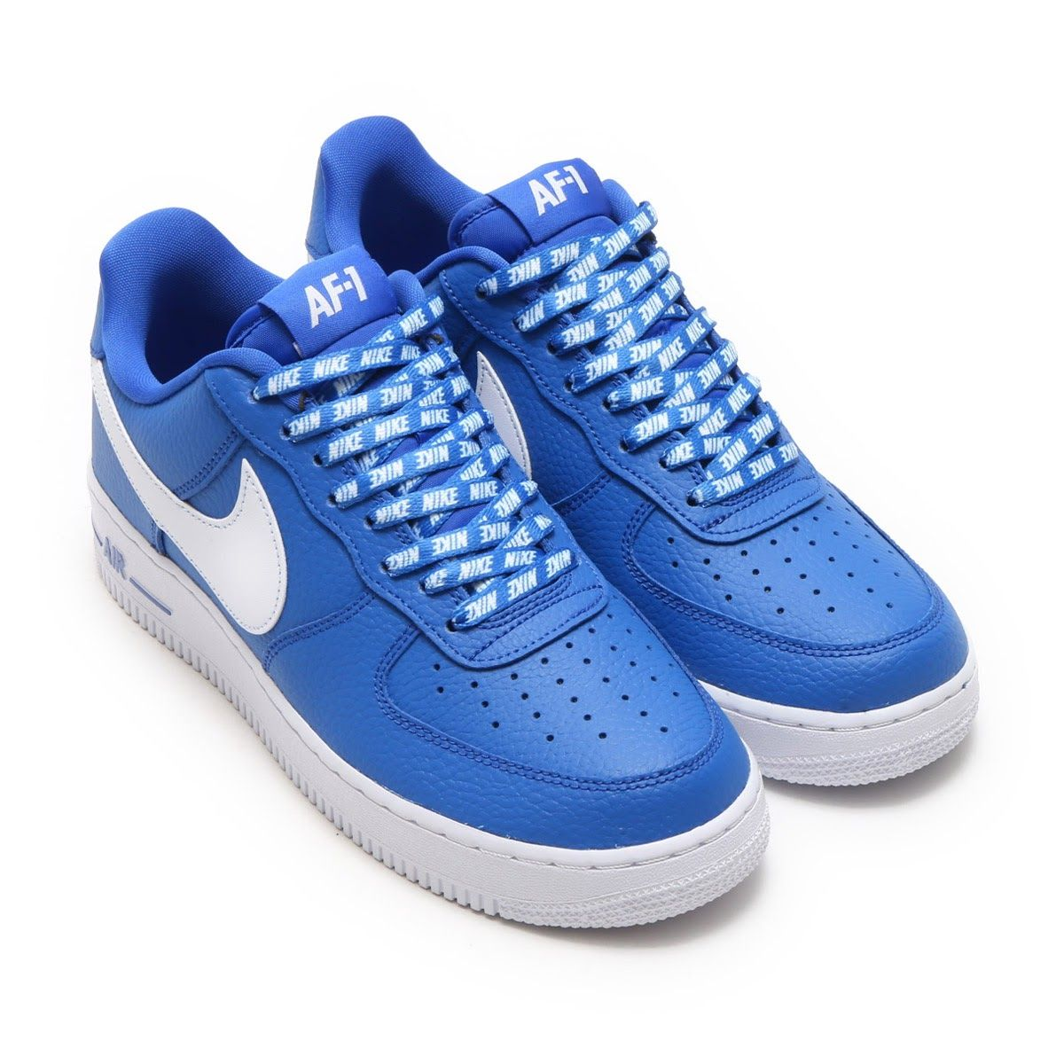 24f692c4672 NIKE AIR FORCE 1 '07 LV8 GAME ROYAL/WHITE | love these sneakers in ...