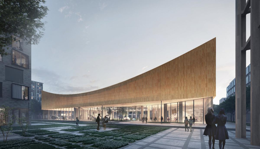 Science Museum Built From Wood Could Be Future Icon Of Sustainability As Cobe Architects Envision Carbon Neutral Plan Danish Architecture Science Museum Museum
