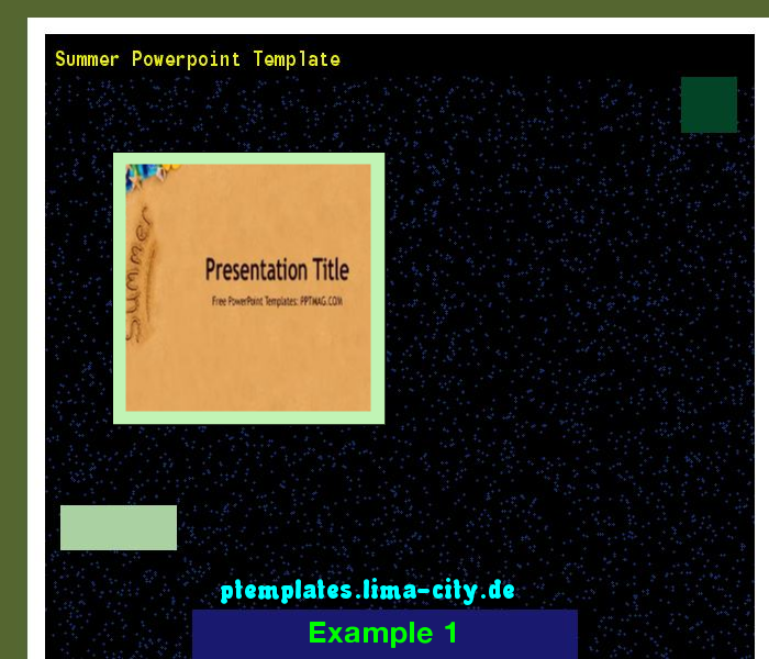 Summer Powerpoint Template Powerpoint Templates   The