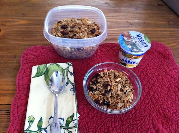 For those sleep-overs or early morning entertaining - Jan Mostrom's Gluten-free Granola, a Tasty & Healthy Breakfast Treat