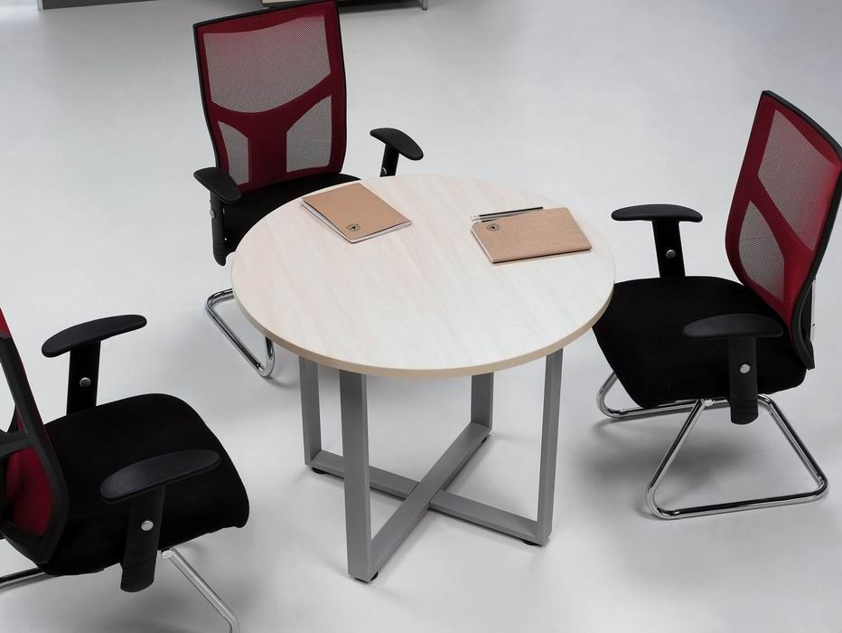 Mfc Office Modern Round Discussion Table Table Modern Round Coffee Table