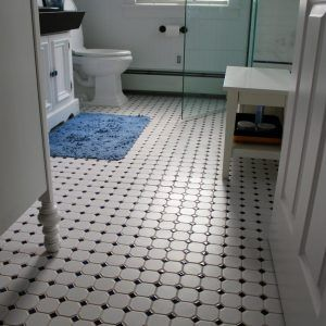 Old Fashioned Black And White Floor Tiles Httpproglocorg - Old fashioned bathroom floor tile