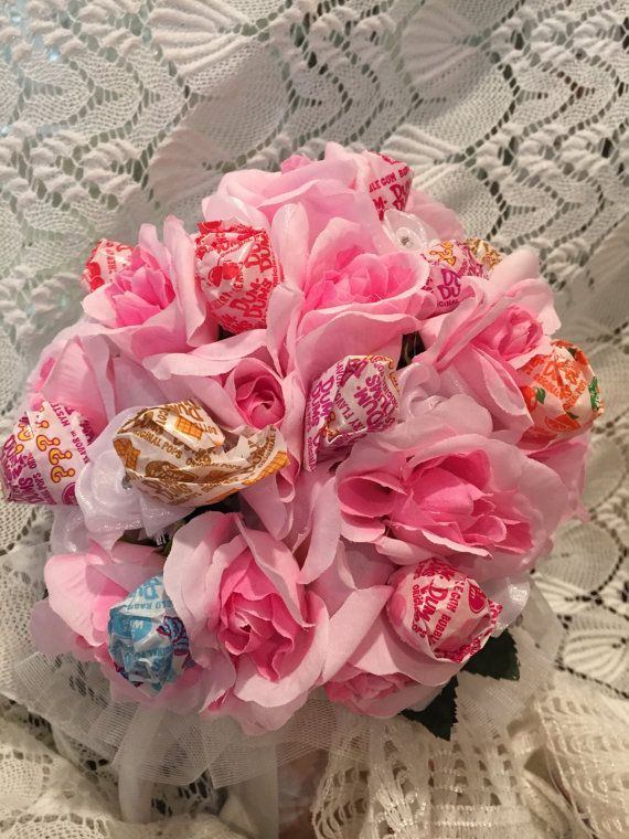 Pink Lollipop Bouquet, Dance Recital Bouquet | dance stuff ...