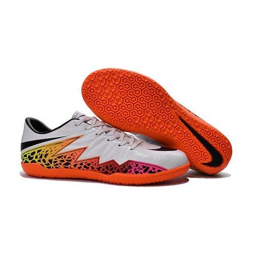 футбольные бутсы Nike Hypervenom Phelon II Indoor - WOLF СерыйчерныйTOTAL  оранжевый 339c5cfc28e