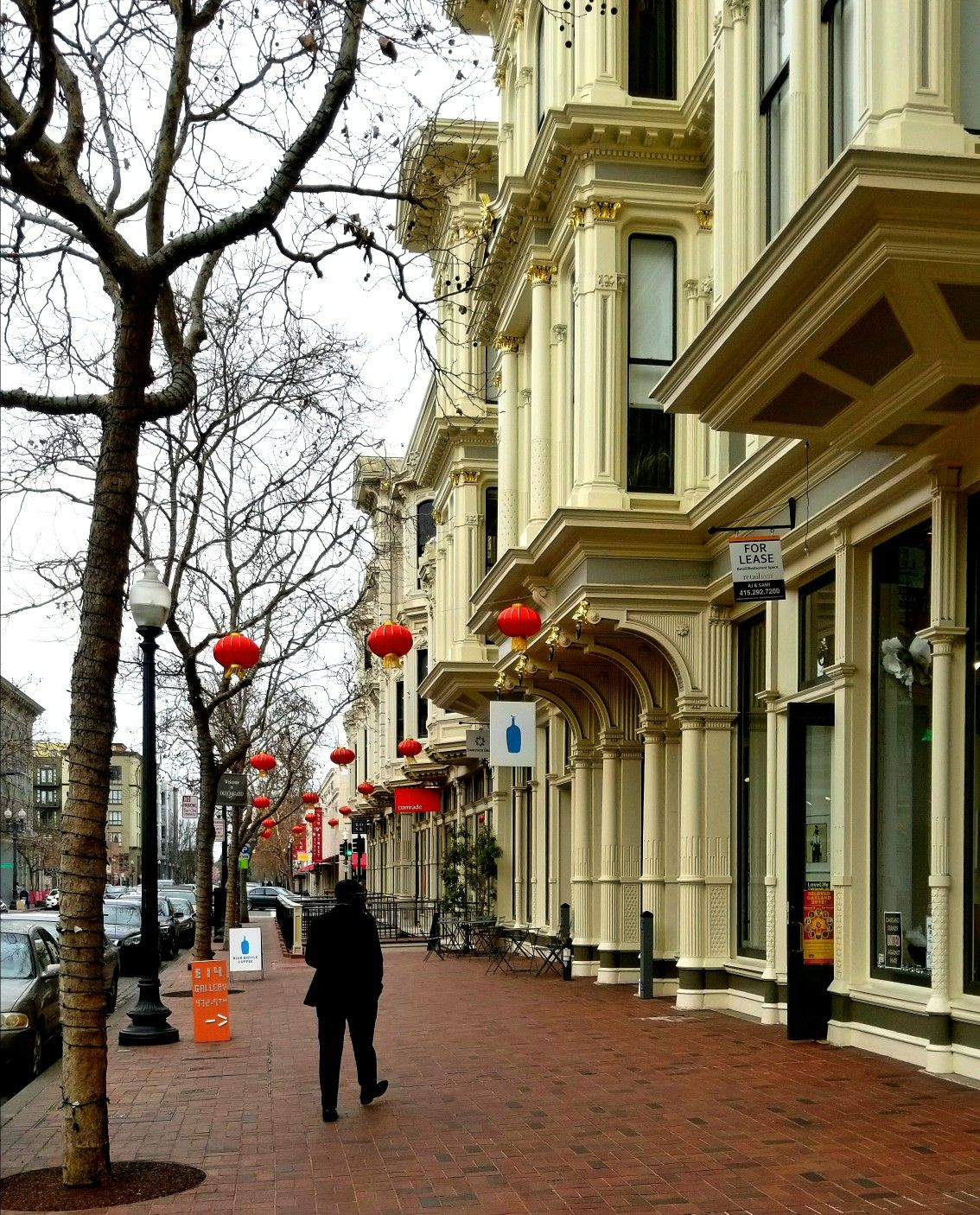 Lanterns On 9th Street Old Oakland Ca Your Streetoftheday Happy Chinese New Year New Urbanism Urban Architecture Street Design
