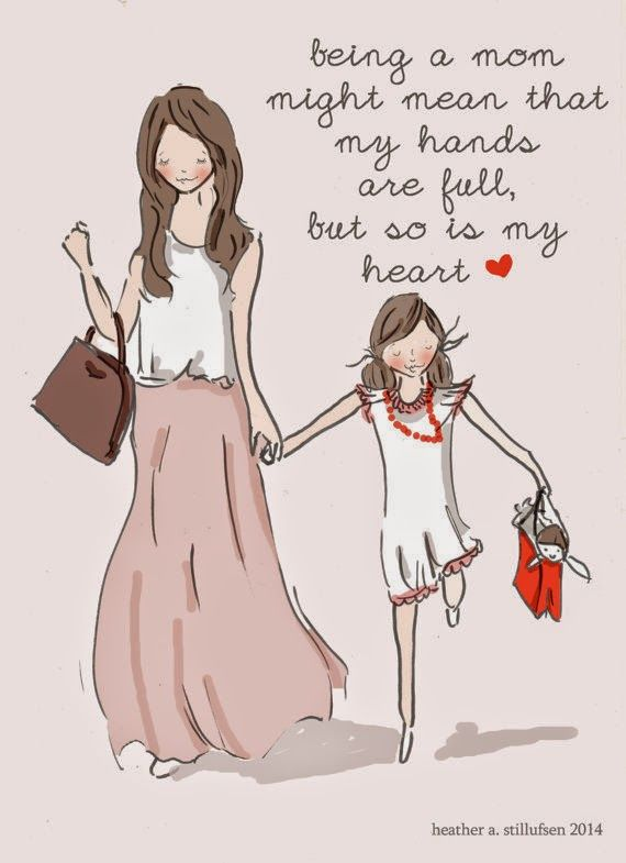 Obsessed with Heather Stillufsen Mother daughter quotes