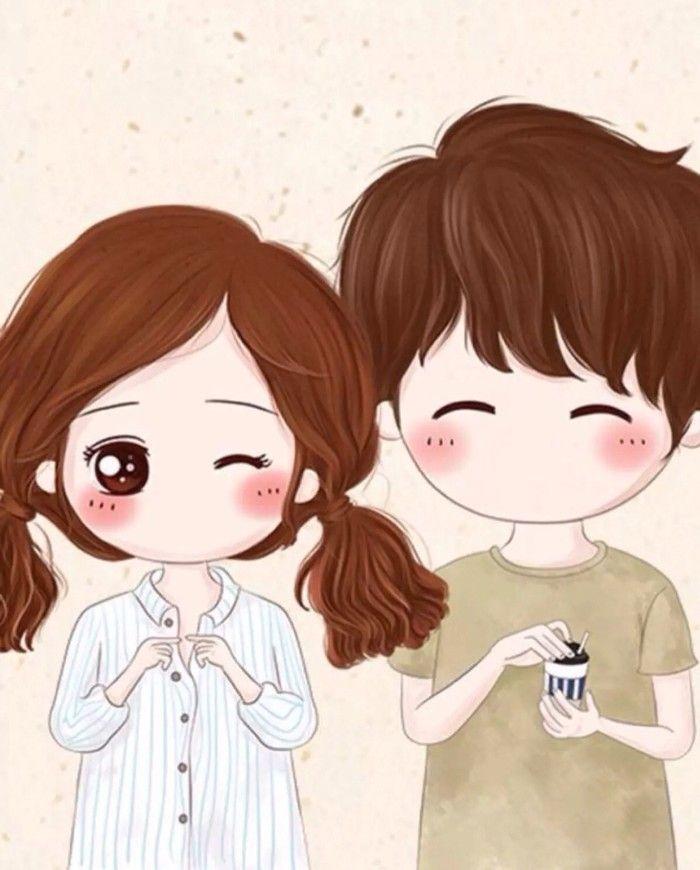 Pin By Indy Vanessa On Minnaklar Cute Couple Wallpaper Cute Couple Cartoon Cute Love Cartoons