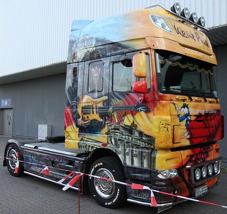 Keine Panik | Daf Trucks | Pinterest | Brush truck, Truck ...