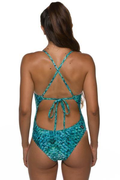 632515eef127f JOLYN Printed Dayno 2 Tie-Back Onesie - Shimmerfish | Jolyn Swimwear ...