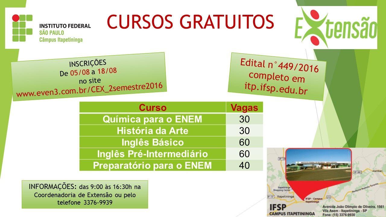 Cursos+gratuitos+em+Itapetininga