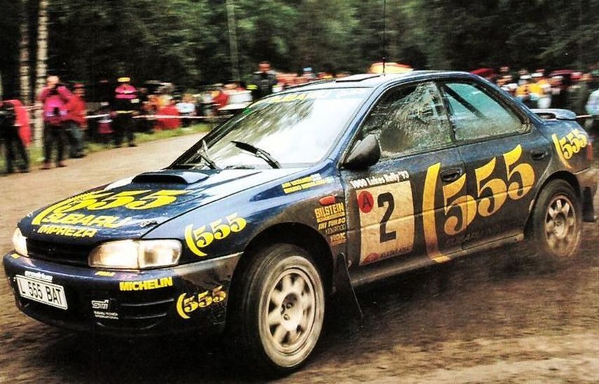 Subaru Impreza 555   The First Chapter Of A Legendary Story