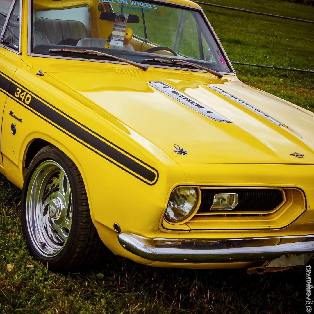 Plymouth Barracuda 340 . . . . ⚠️ #musclecar