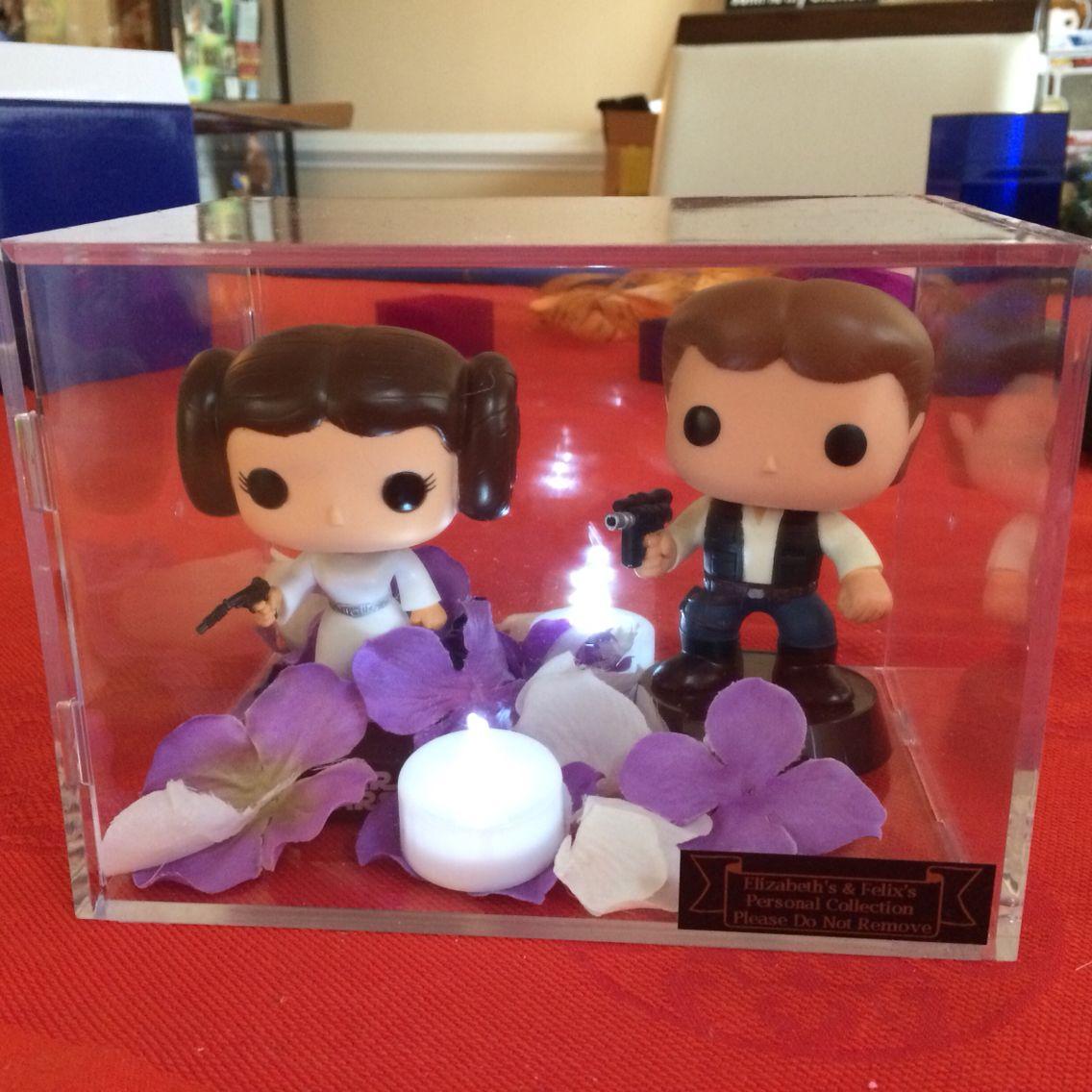 Supermarket Flower Arrangements Display Case Lighting: Centerpieces- Pop! Funko Vinyl Dolls In Display Cases, Add