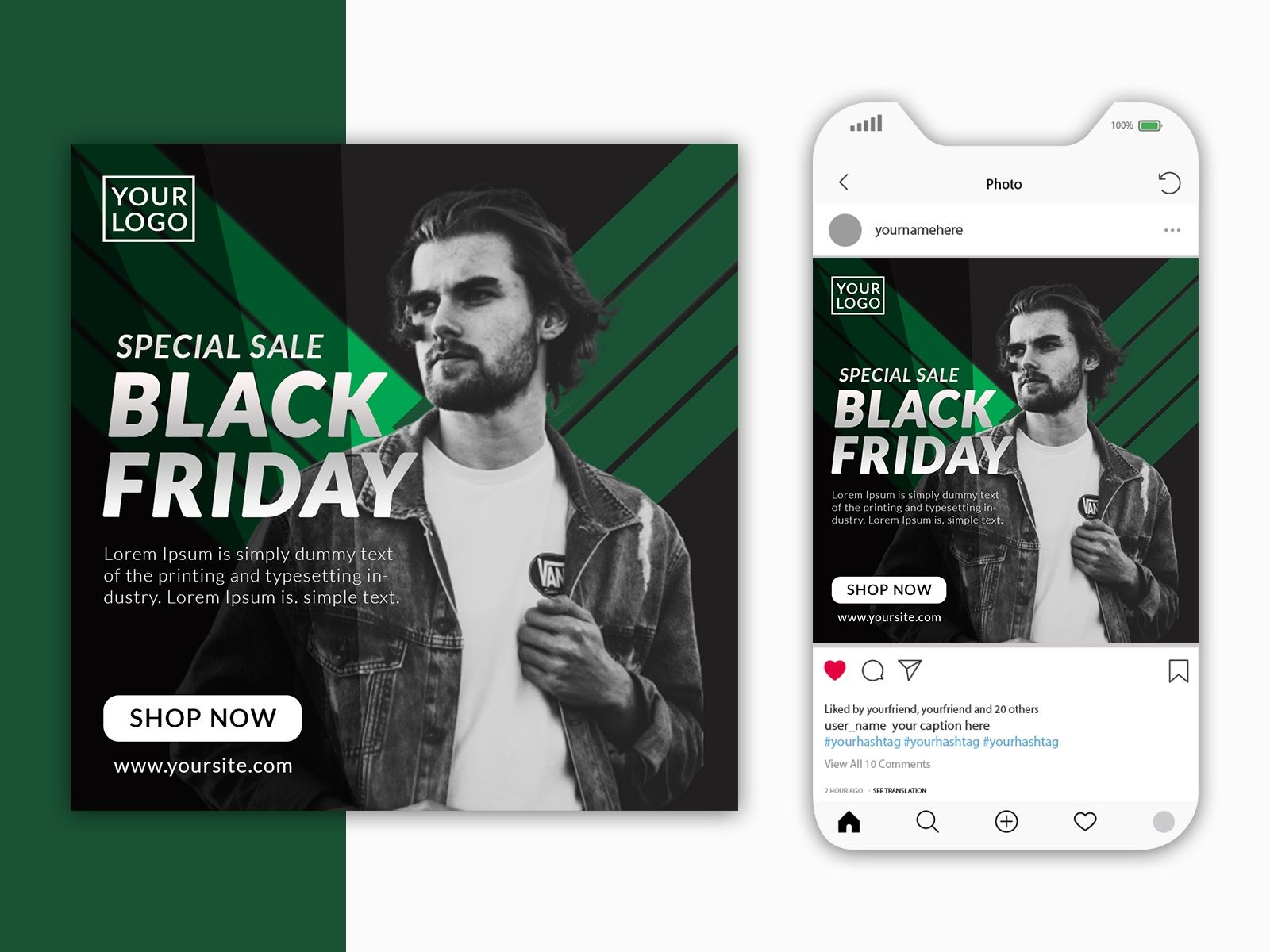 Black Friday Special Sale Ad Design On Social Media In 2020 Black Friday Special Black Friday Black Friday Shopping Quotes