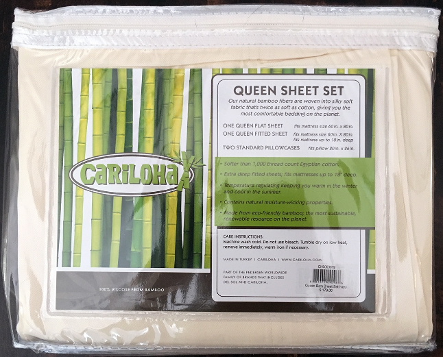 Our Cariloha Classic Bamboo Bed Sheet Review