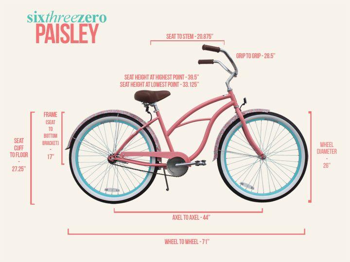 Paisley Beach Bike From Beachbikes Com Design Beach Bikes