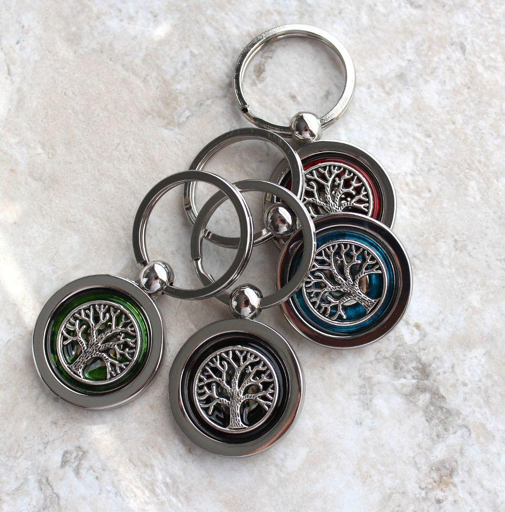 Irish Wedding Gift Ideas: Tree Of Life Keychain, Wedding Party, Groomsmen Gift