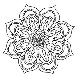 Mandala Floral 21 Mandalas Mandalas Para Colorir
