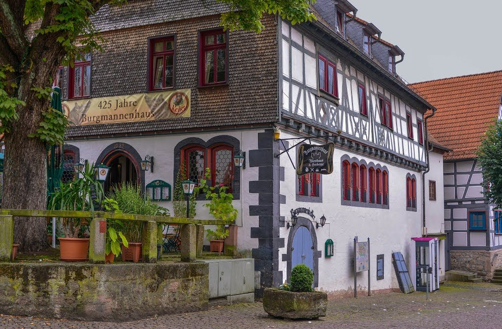 Steinau An Der Strasse Burgmannenhaus Steinau A D Str