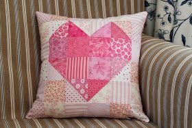 Jen Daly Quilts: Heart-to-Heart - Free Pattern