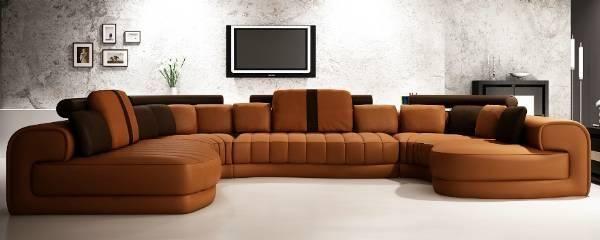 Super lækker sofa i Italiensk Læder til SPOTPRIS