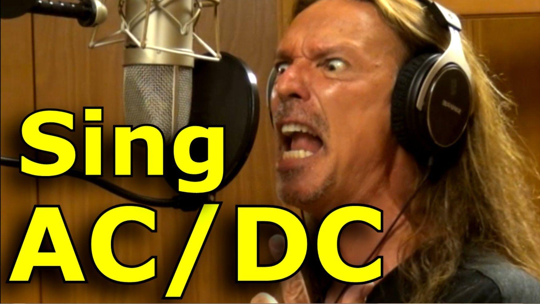 How To Sing AC/DC Brian Johnson Ken Tamplin Vocal