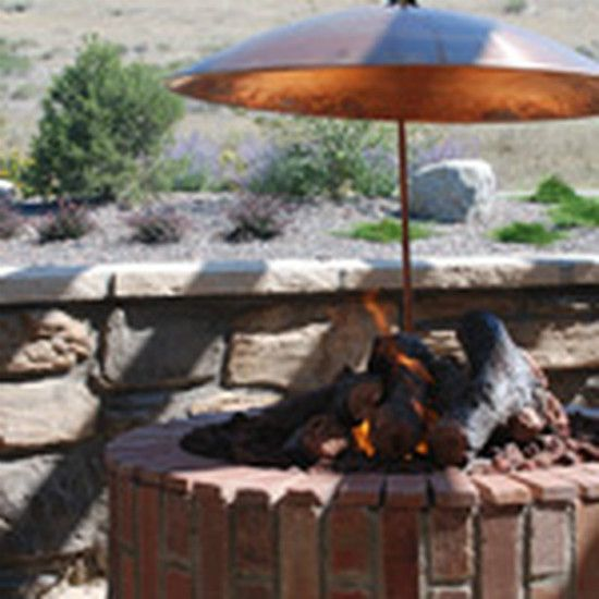 Fire Pit Hood Chimney ~ Outdoor fire pit hood furniture design and ideas