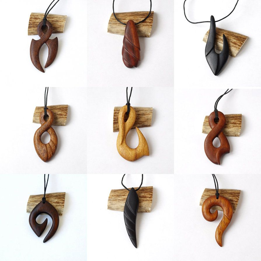 Wood Jewelry 2 By BDSart