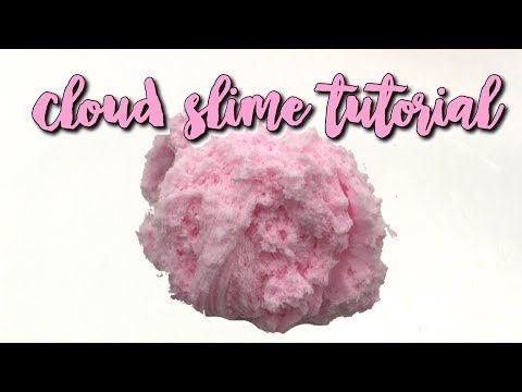 diy cloud slime tutorial! youtube diy pinterest slime, slimediy cloud slime tutorial! youtube