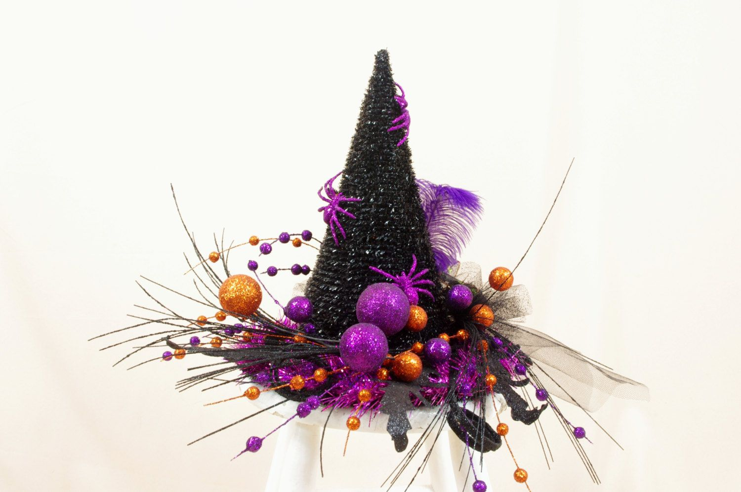 Halloween Tree Topper * Witch Hat Tree Topper * Halloween