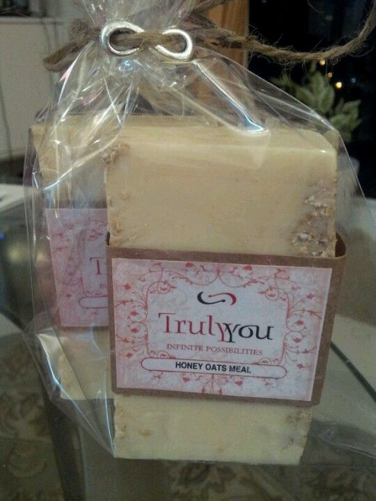Honey Oats Meal soap bars! Silky smooth!