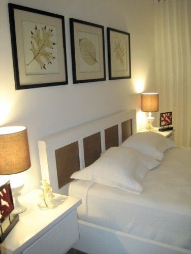 Headboard & Lamp Shades