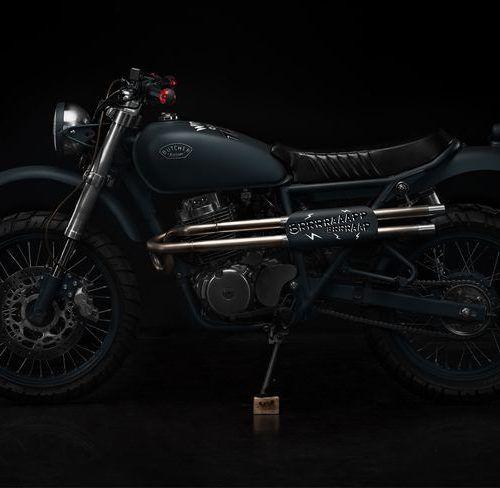 Honda CB400SS Scrambler – Butcher Garage