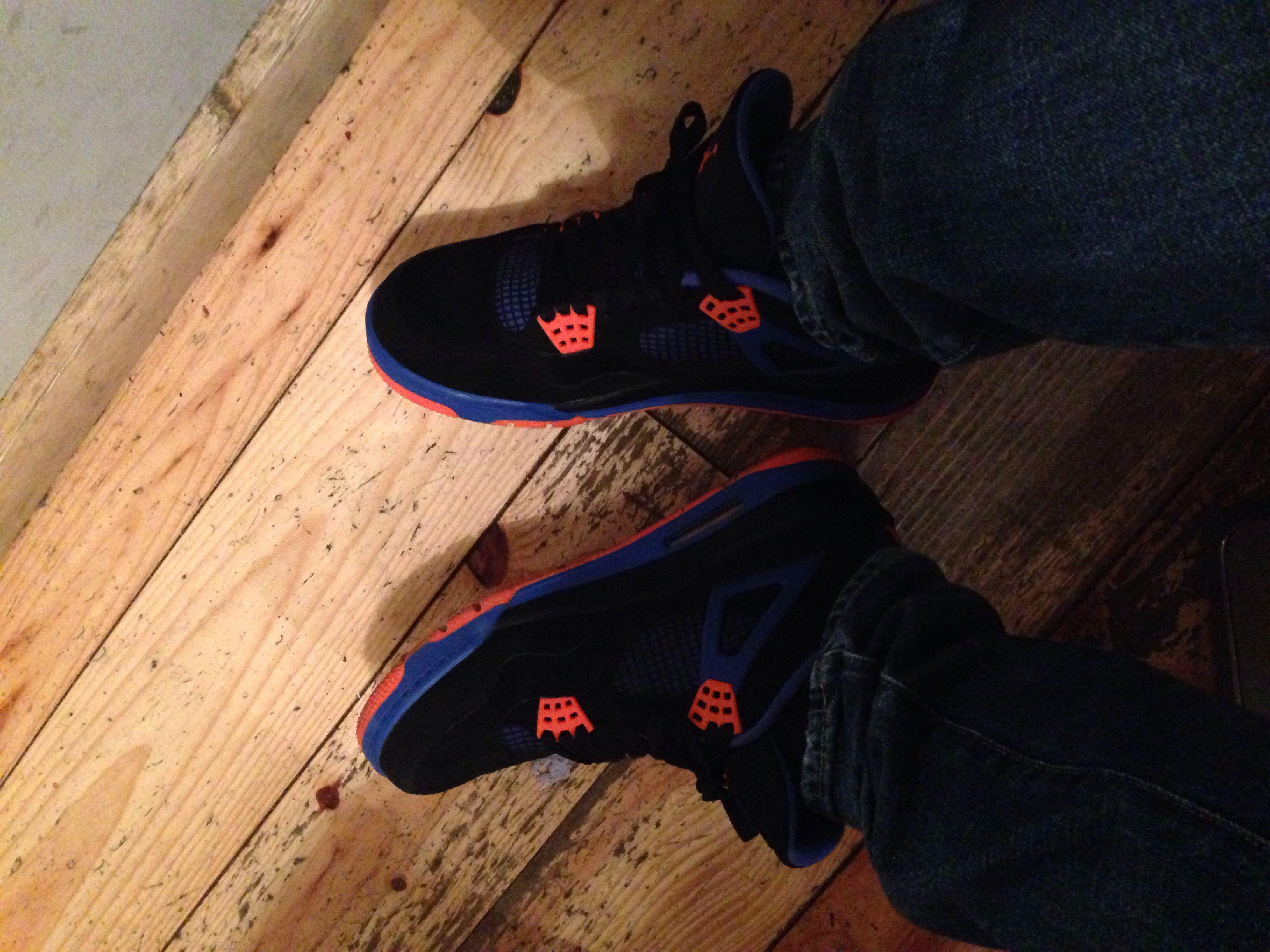 Today's #kicks #sskix #nike #nikeair #Jordan4 #Cavs