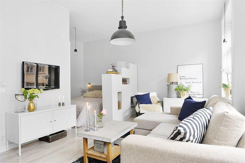Creative Sleeping Areas For Open Plan Homes · Small StudioStudio ...