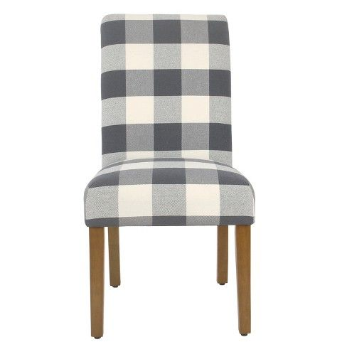 Homepop Parsons Dining Chair Set Of 2 Plaid Parsons