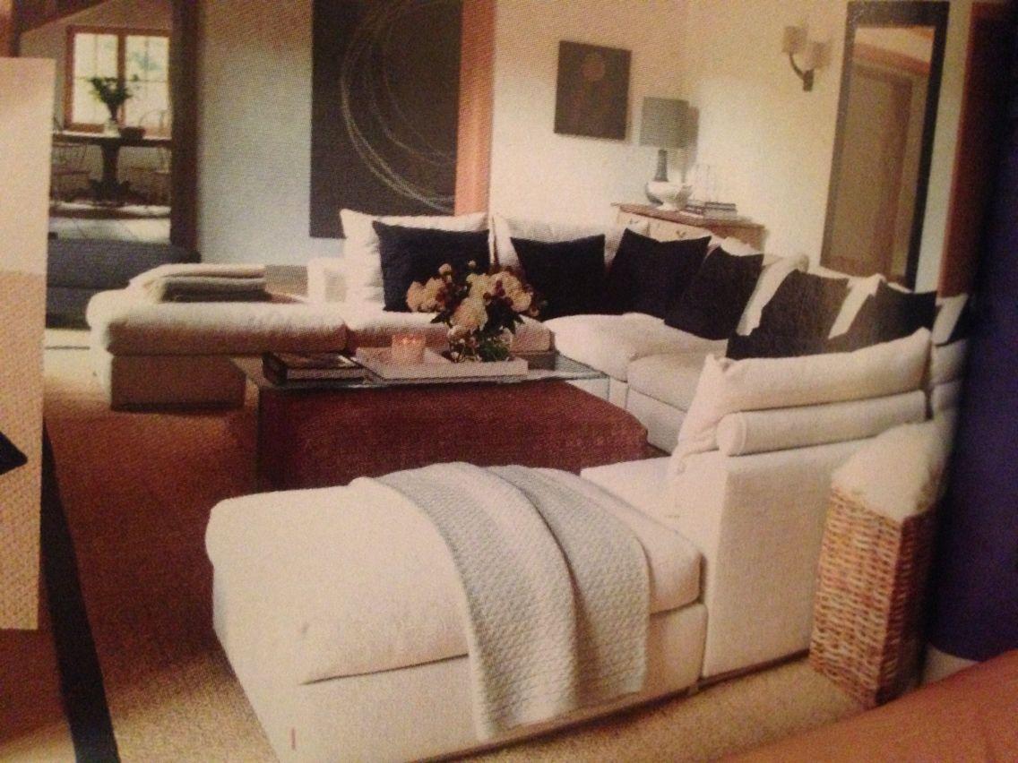 cosy u shaped houses. Think U shaped sofa configuration is cosy and sociable  family room