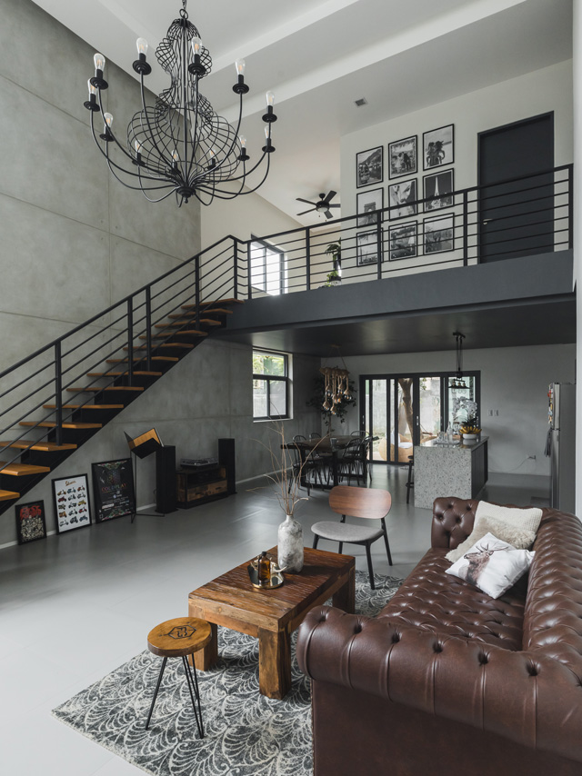 Style Rules This Modern Minimalist Industrial Home In 2020 Modern Minimalist House Loft House Design Industrial Home Design