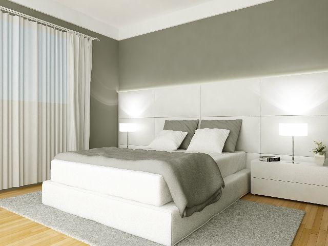 Quarto aconchegante, com facilidade para mobiliar e decorar.