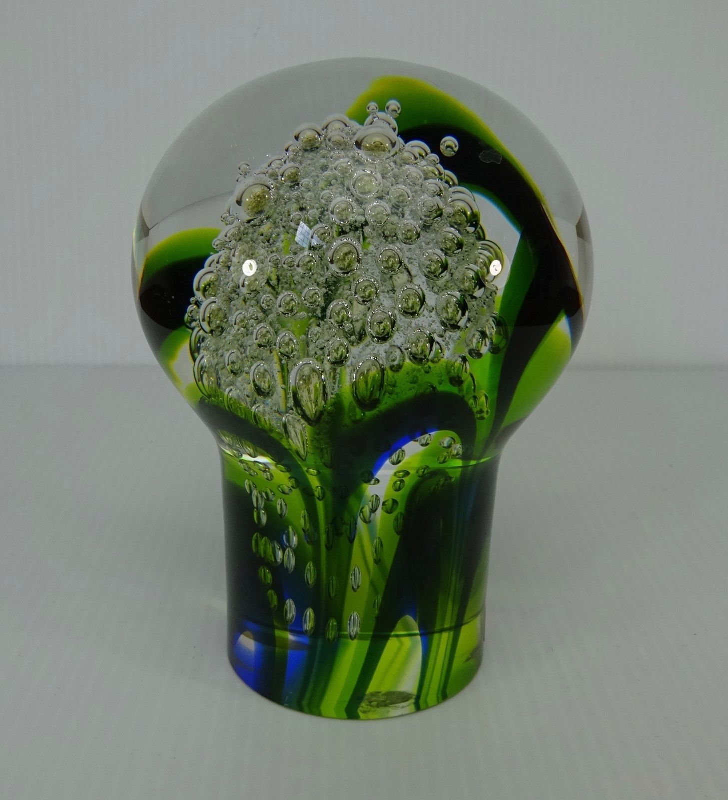 Kosta Boda 98580 G Warff Signed Crystal Sculpture 3 12 Tall Abstract Glass Paperweight Vintage Kosta Boda Twisted Glass Paperweight