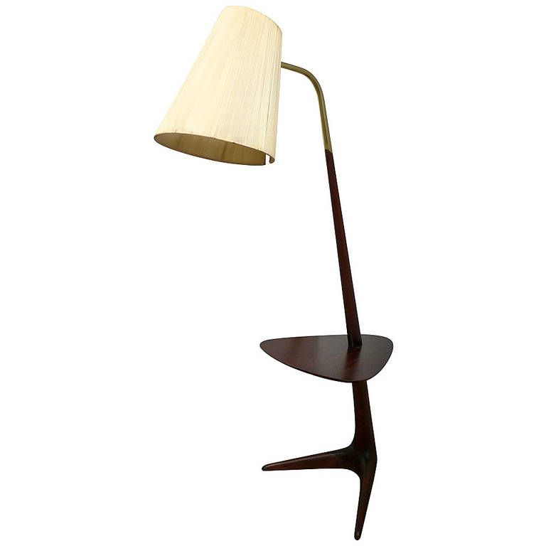 Rare Vladimir Kagan Lamp Table From A Unique Collection Of Antique And Modern Floor Lamps At Https Www 1stdibs Com Furn With Images Table Lamp Lamp Modern Floor Lamps