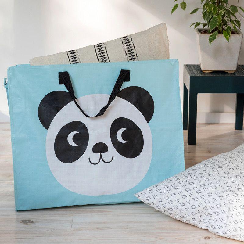 cfe3b7dea45 Miko The Panda Jumbo Bag | Home storage | Bags, Bag storage, Recycle ...
