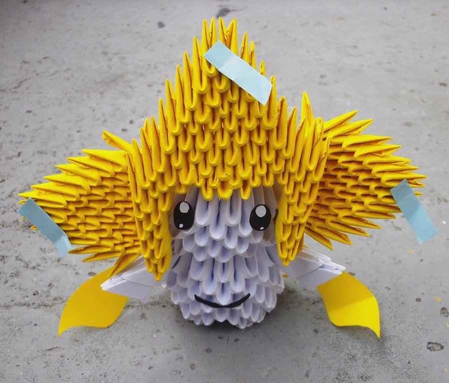 3D origami small swan tutorial ( model 1) - YouTube | 768x900
