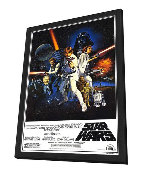 Full Cast 'Star Wars' Framed Movie Poster   zulily