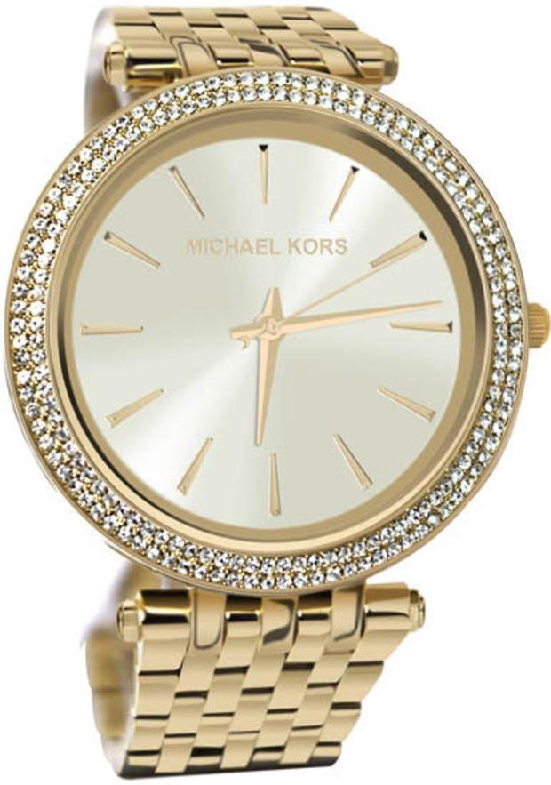 Michael Kors Gold Tone Case, Bracelet & Dial MK3191 Watch