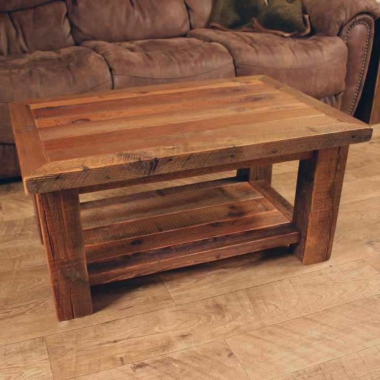 Timber Frame Barn Wood Coffee Table In 2019