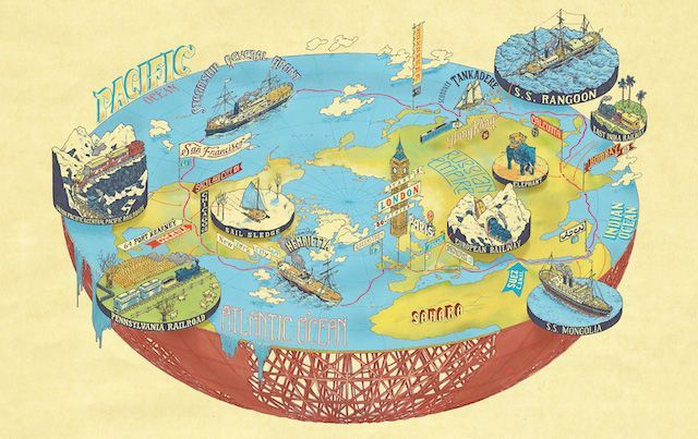Gorgeous Illustrated Maps of Literary Worlds | Illustrated maps and ...