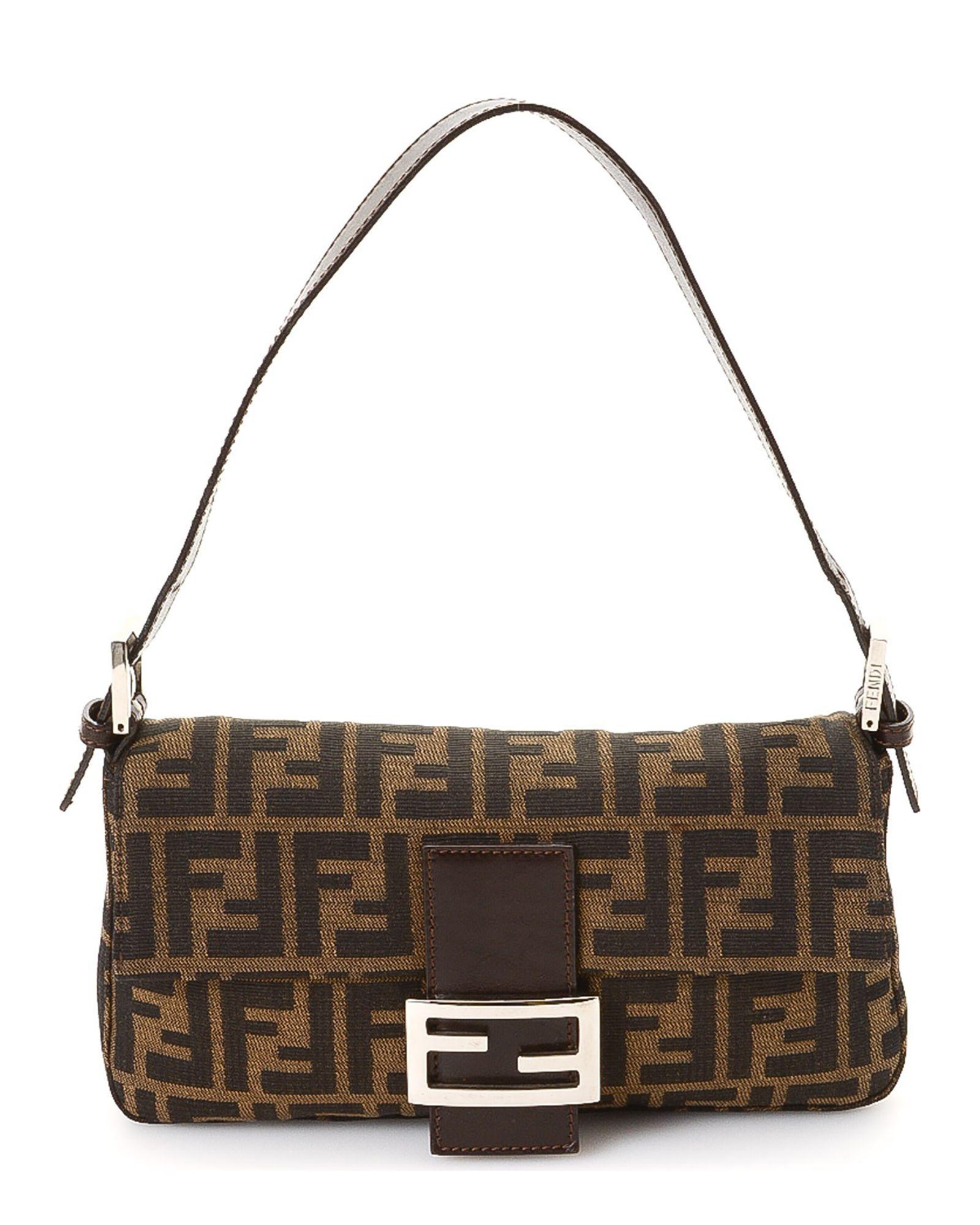 9617f106789 Fendi Zucca Baguette - Vintage | *Century 21 Stores* | Shoulder bag ...