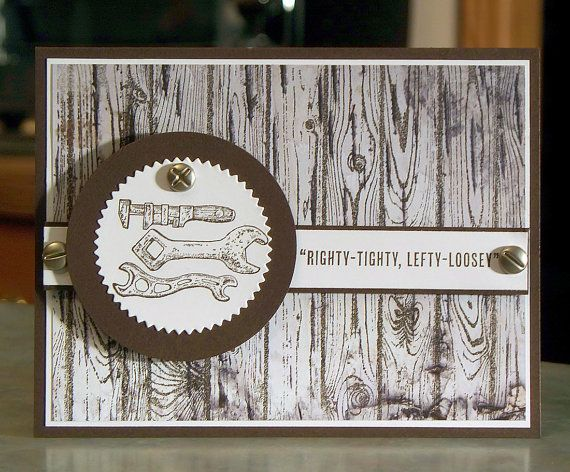 Handmade Fathers Day Or Birthday Card Stampin Up Guy Greetings