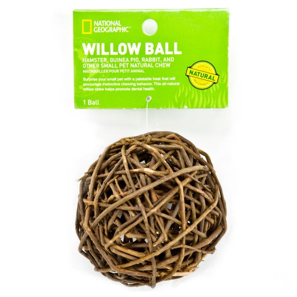 I Love This Willow Ball It Is Fairly Large So Hamsters Can Climb On It You Can Also Put Food Through The Gaps So It Will Gi Small Pets Pet Toys